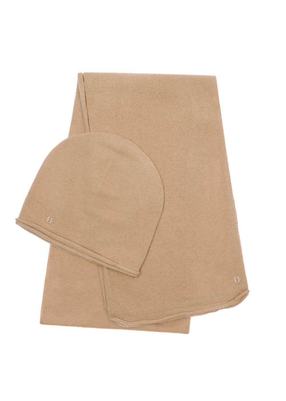 Zestaw czapka i szalik CZADT-0043-81+SZADT-0093-81(Z20)