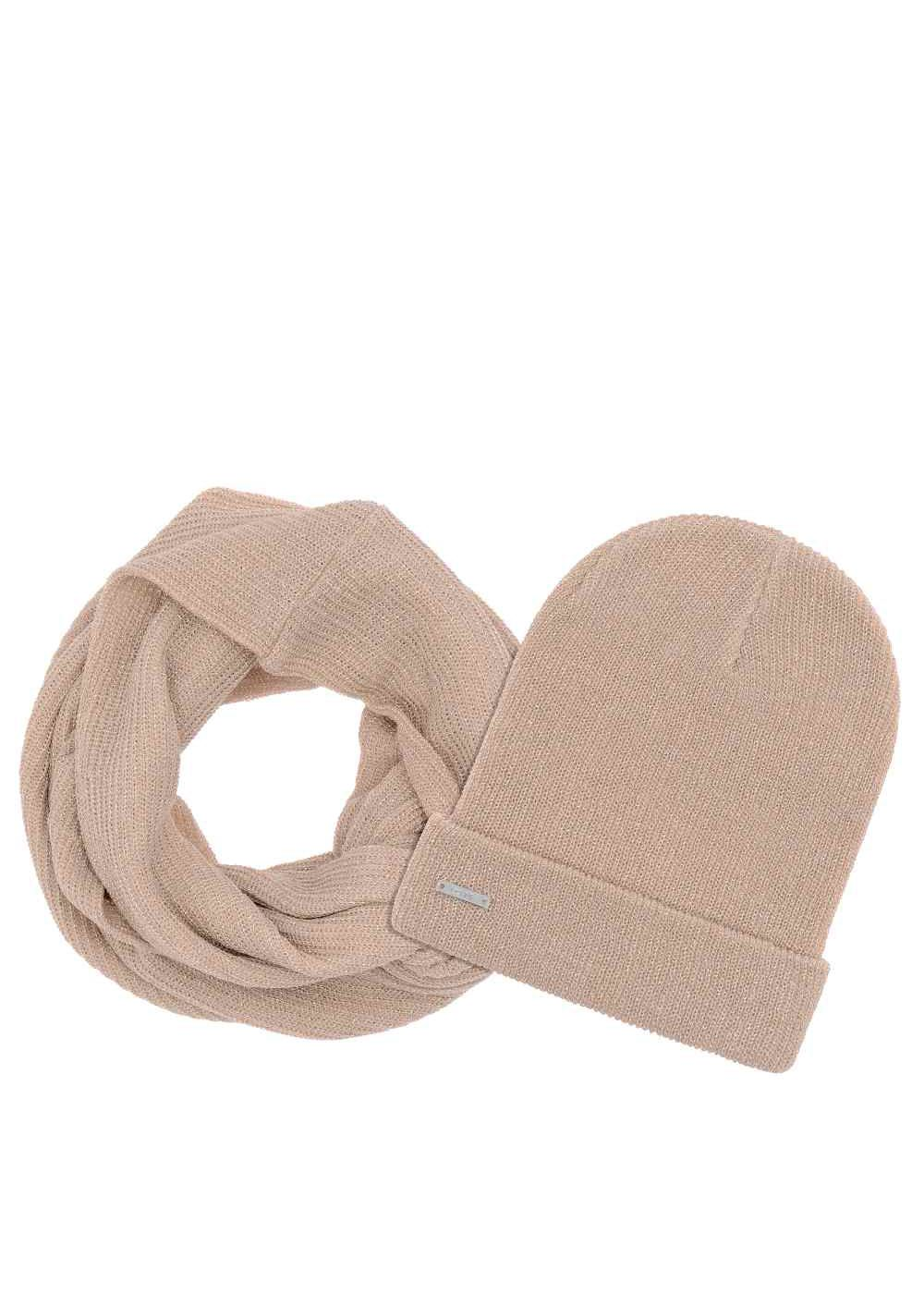 Zestaw czapka i szalik CZADT-0031-81 + KOMDT-0013-81