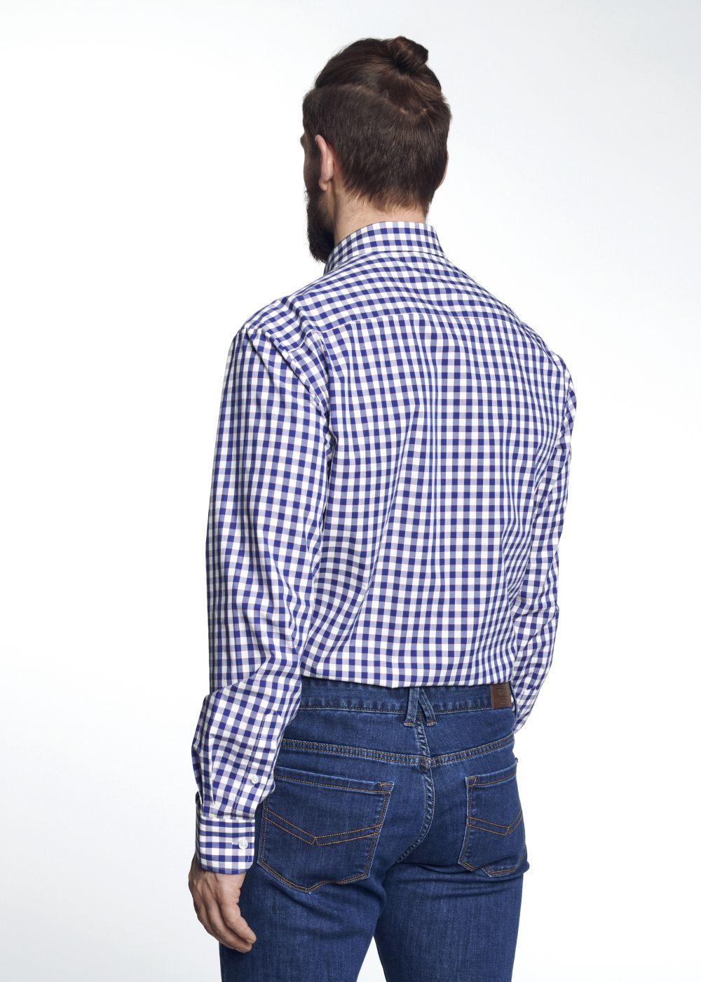 Koszula męska KOSMT-0166-61(W21)