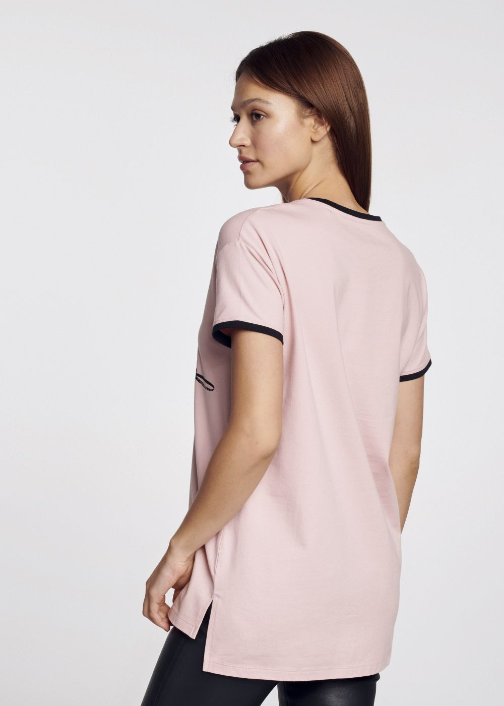 T-shirt damski TSHDT-0065-31(W21)