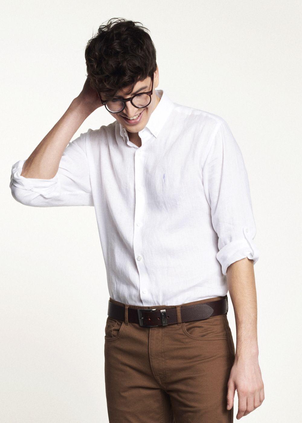 Koszula męska KOSMT-0196-11(W21)