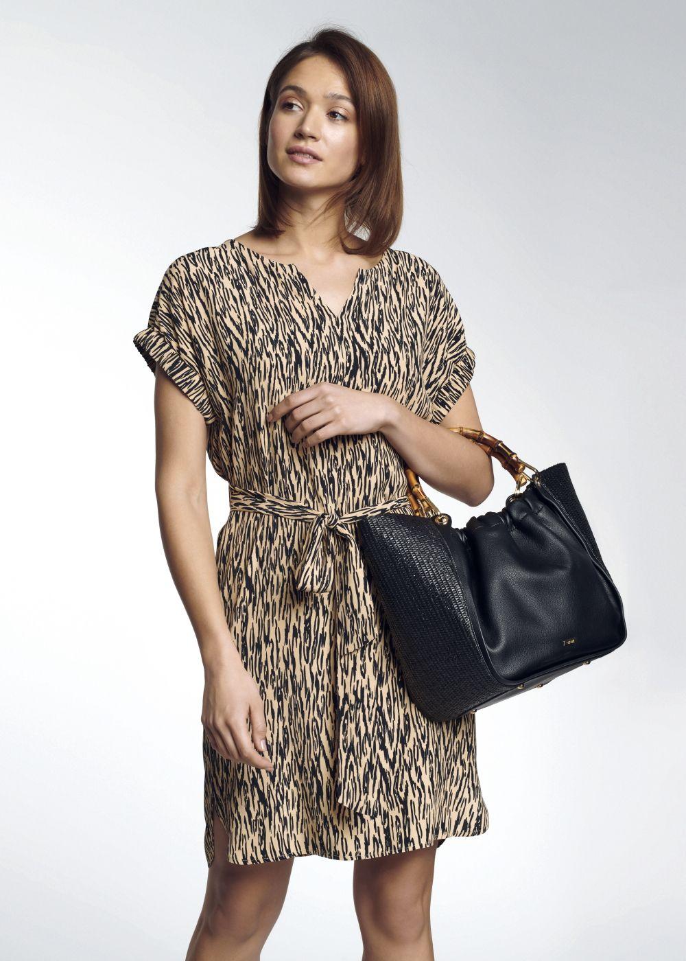 Sukienka damska SUKDT-0085-81(W21)