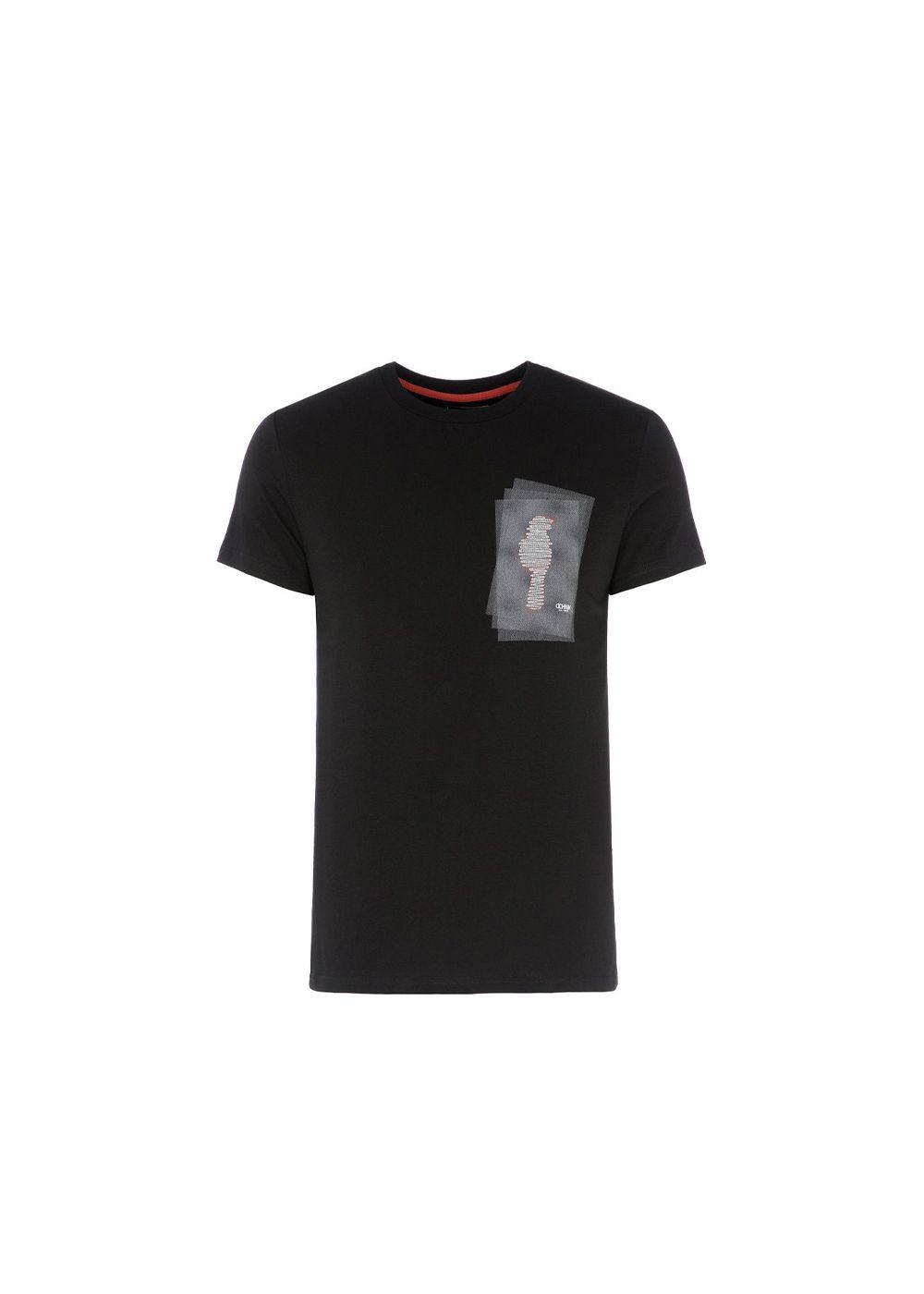T-shirt męski TSHMT-0030-99(W20)