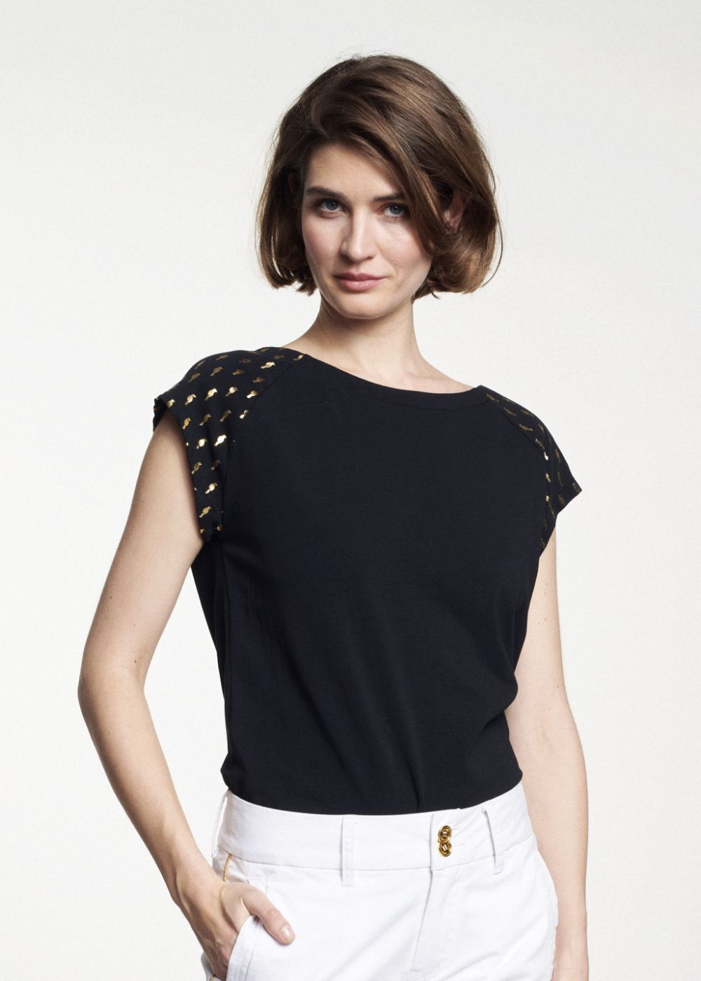 T-shirt damski TSHDT-0060-99(W21)