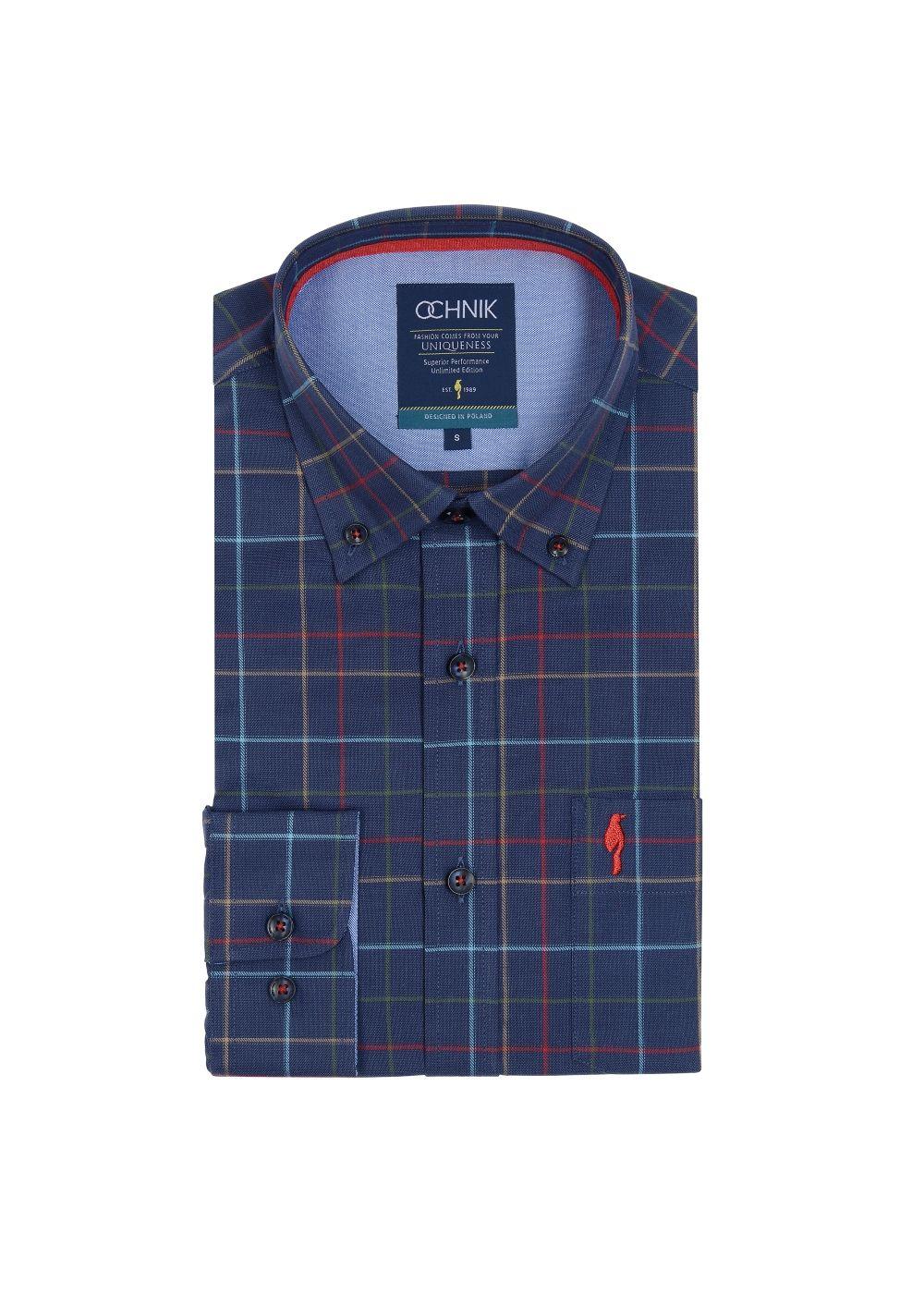 Koszula męska KOSMT-0142-61(Z19)