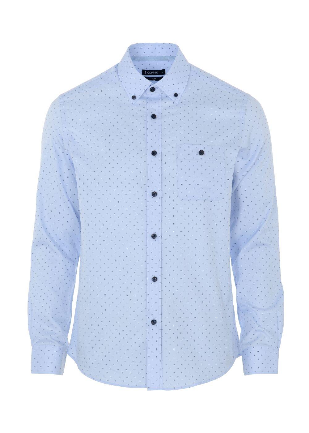 Koszula męska KOSMT-0246-60(W21)