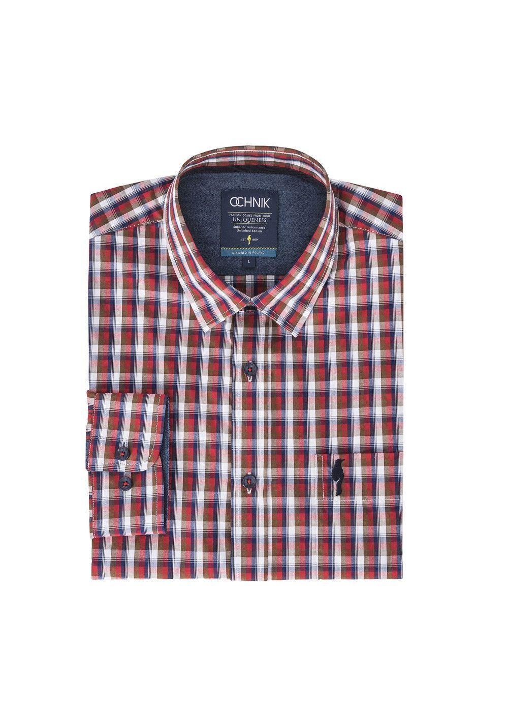Koszula męska KOSMT-0042-41(Z17)