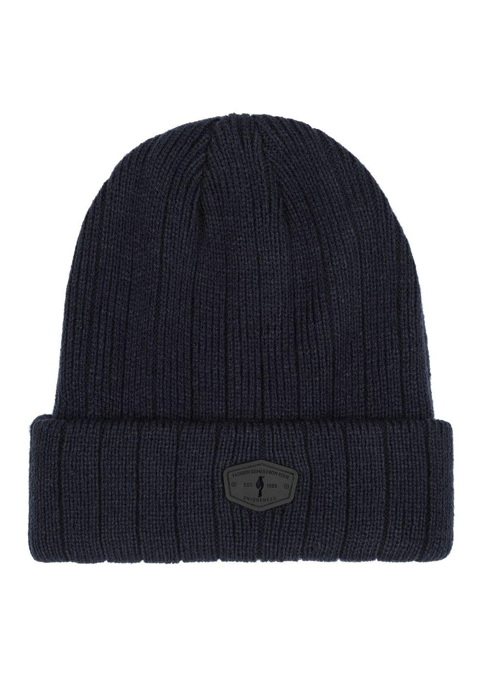 Zestaw czapka i szalik SZAMT-0021-69+CZAMT-0018-69(Z20)