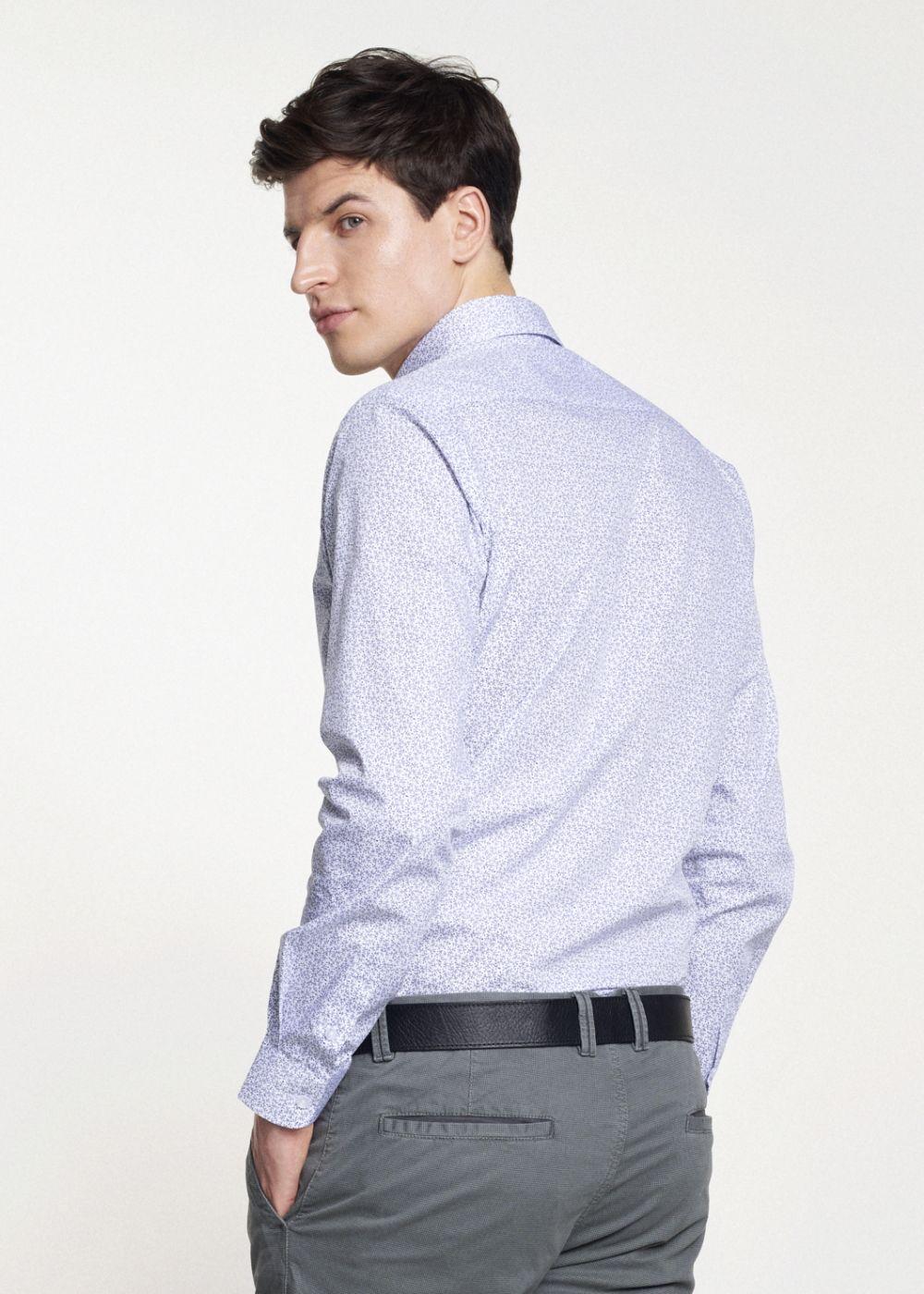 Koszula męska KOSMT-0260-11(W21)