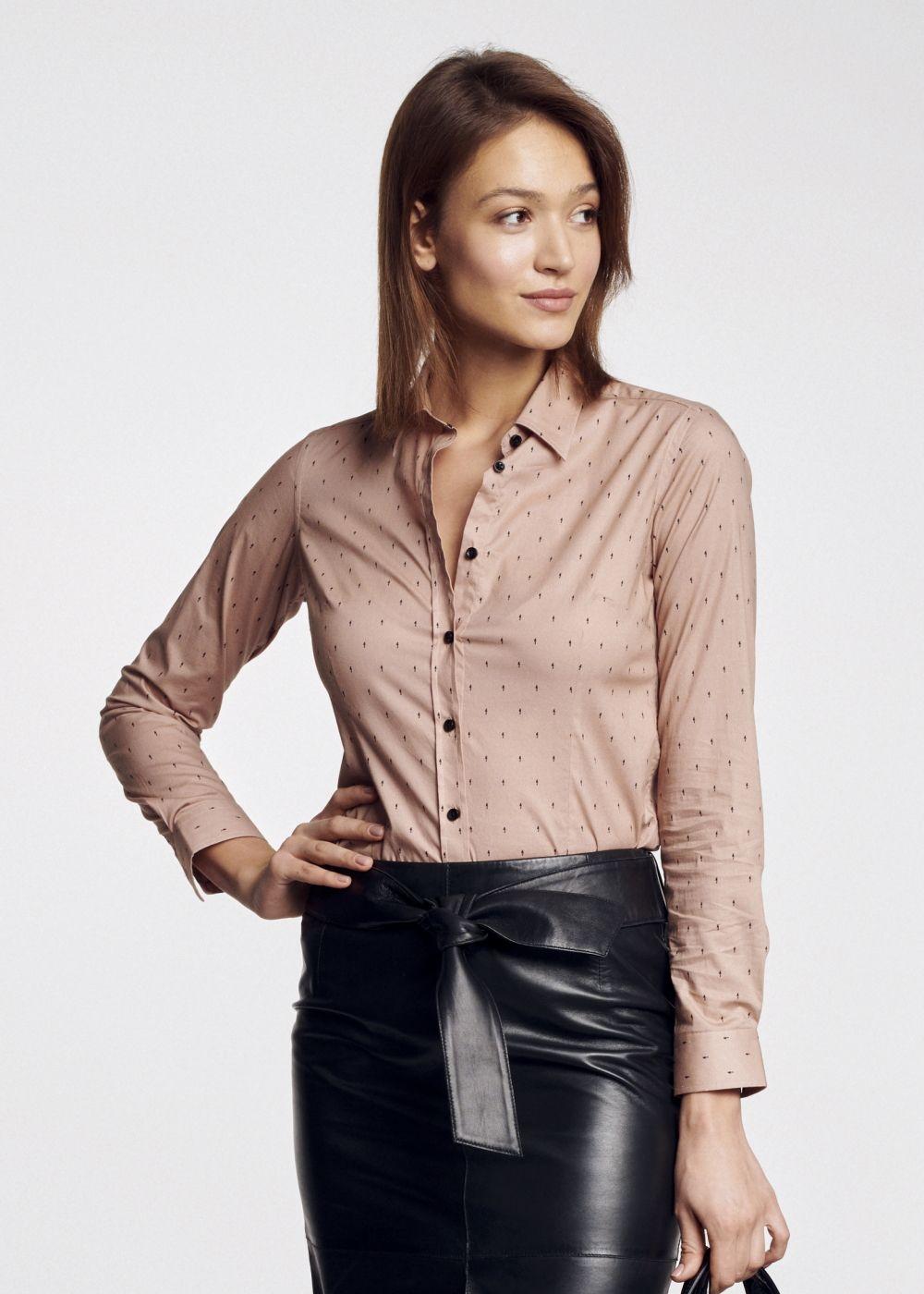 Koszula damska KOSDT-0085-81(W21)