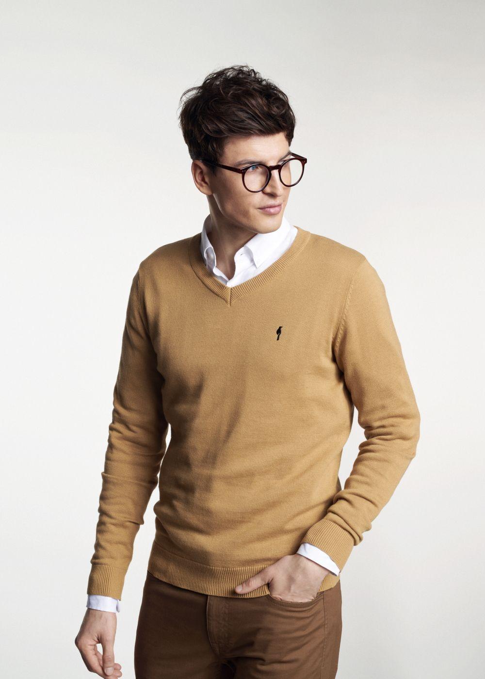 Sweter męski SWEMT-0081-81(W21)