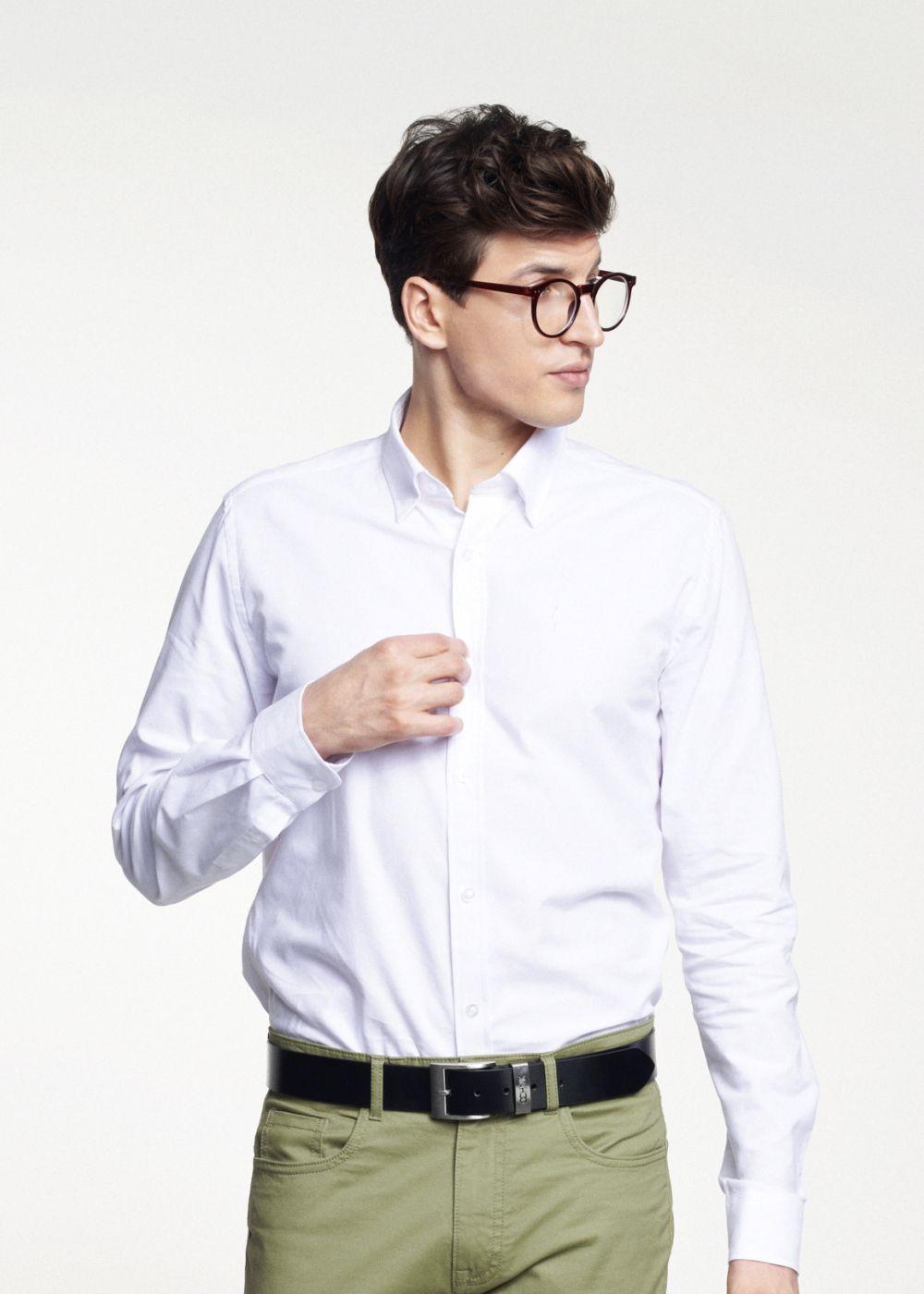 Koszula męska KOSMT-0187-11(W21)