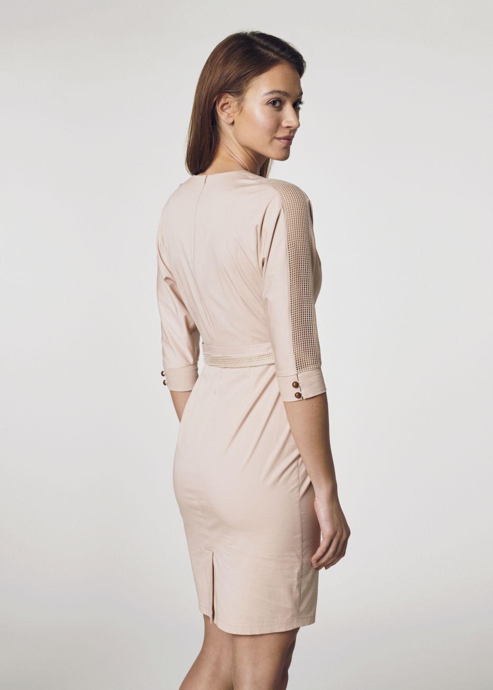 Sukienka damska SUKDT-0095-81(W21)