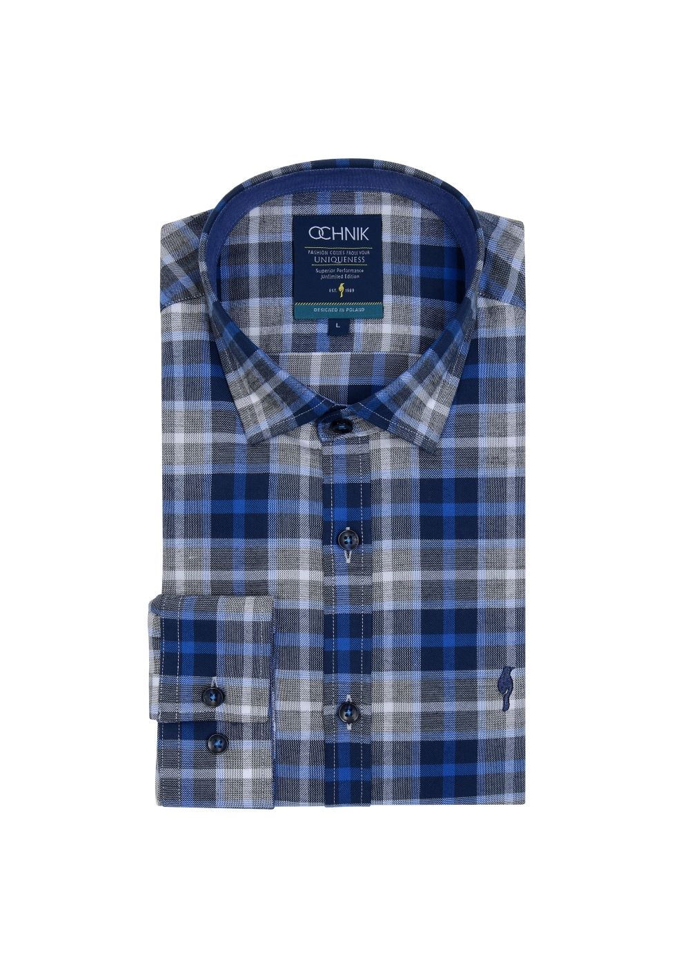 Koszula męska KOSMT-0161-61(Z19)