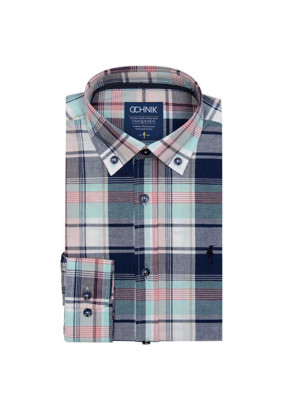 Koszula męska KOSMT-0138-31(Z19)