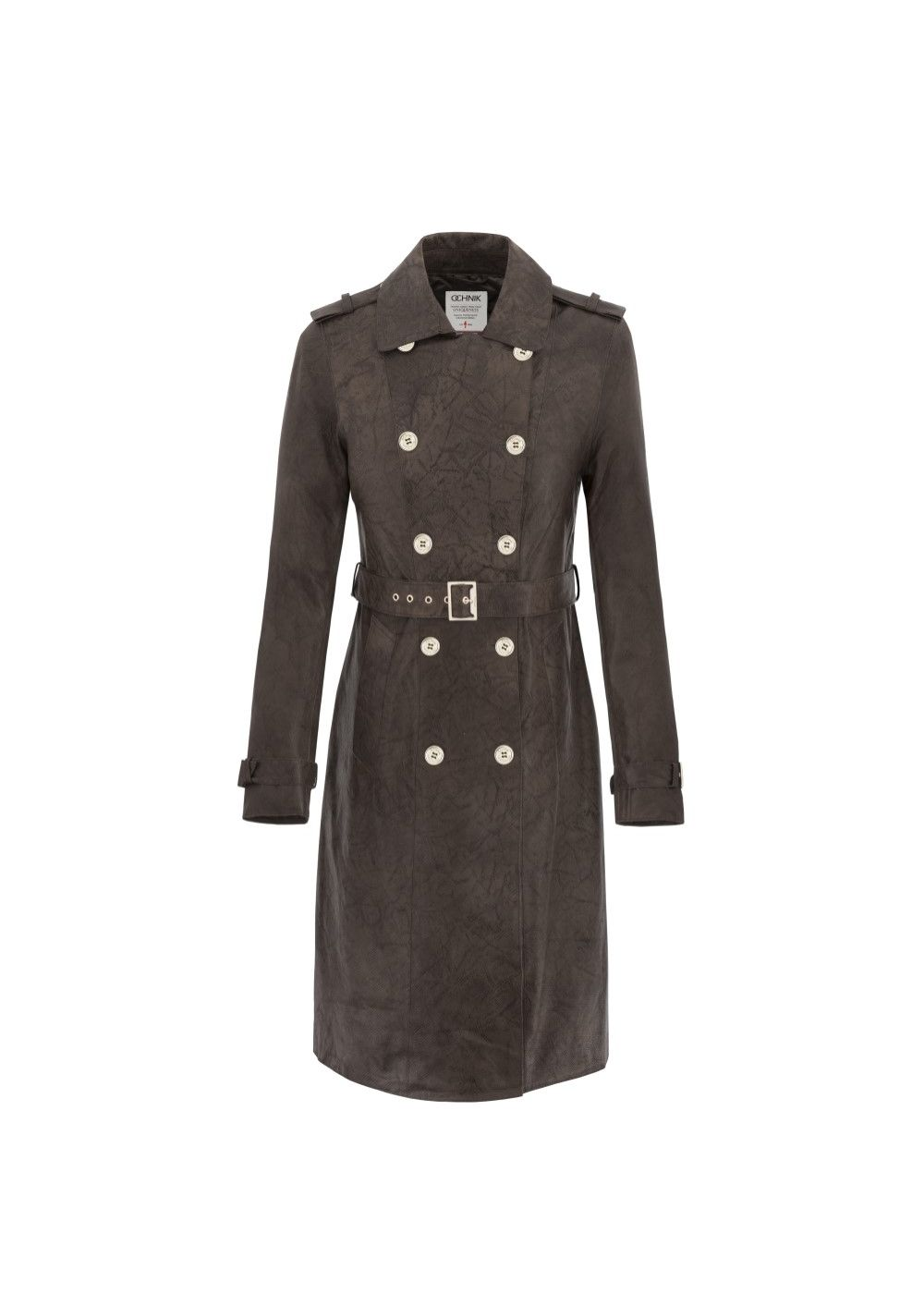Płaszcz damski KURDS-0060-4059(Z17)