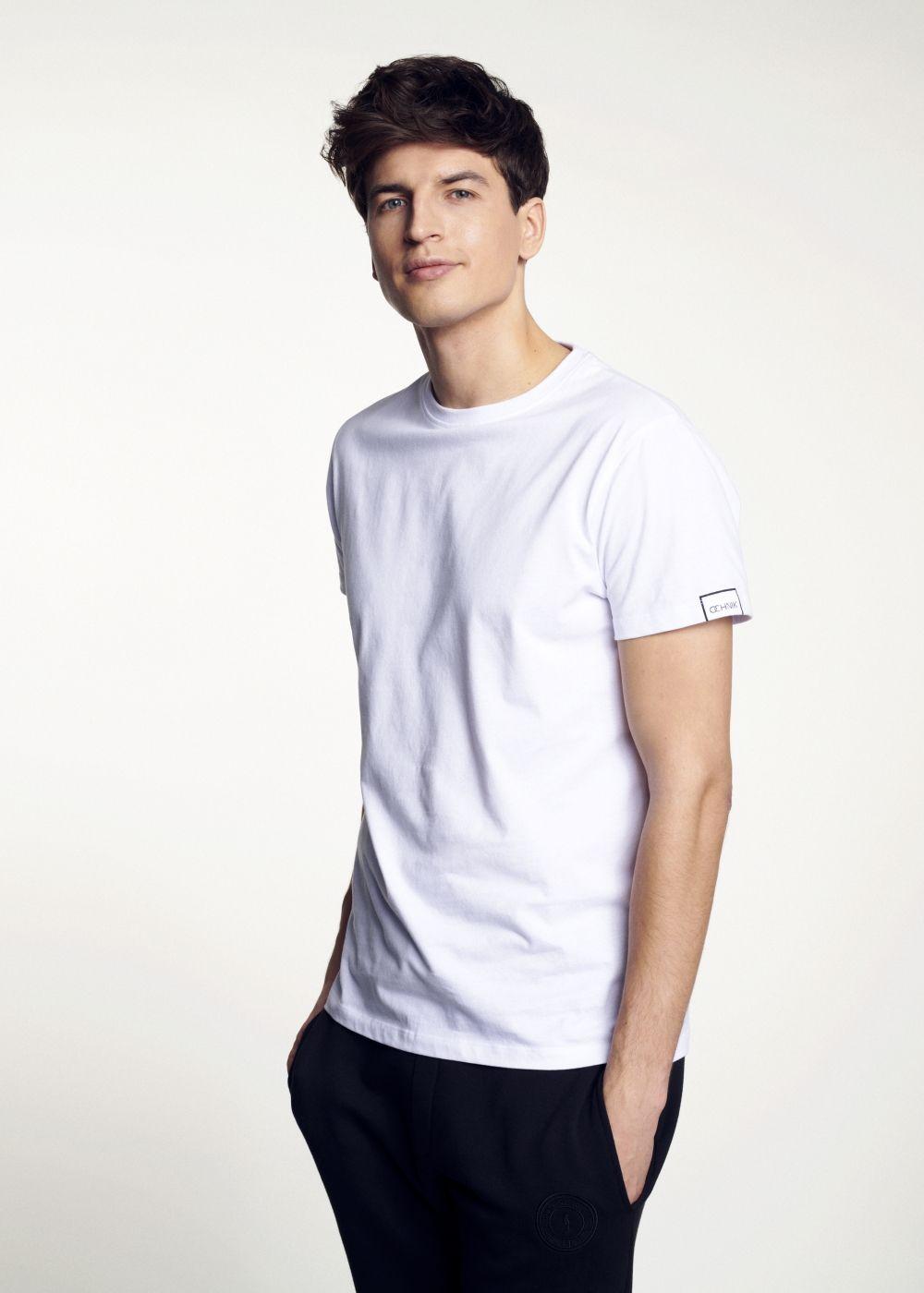 T-shirt męski TSHMT-0048-11(W21)