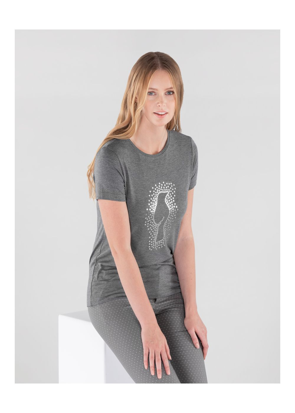 T-shirt damski TSHDT-0070-91(Z20)
