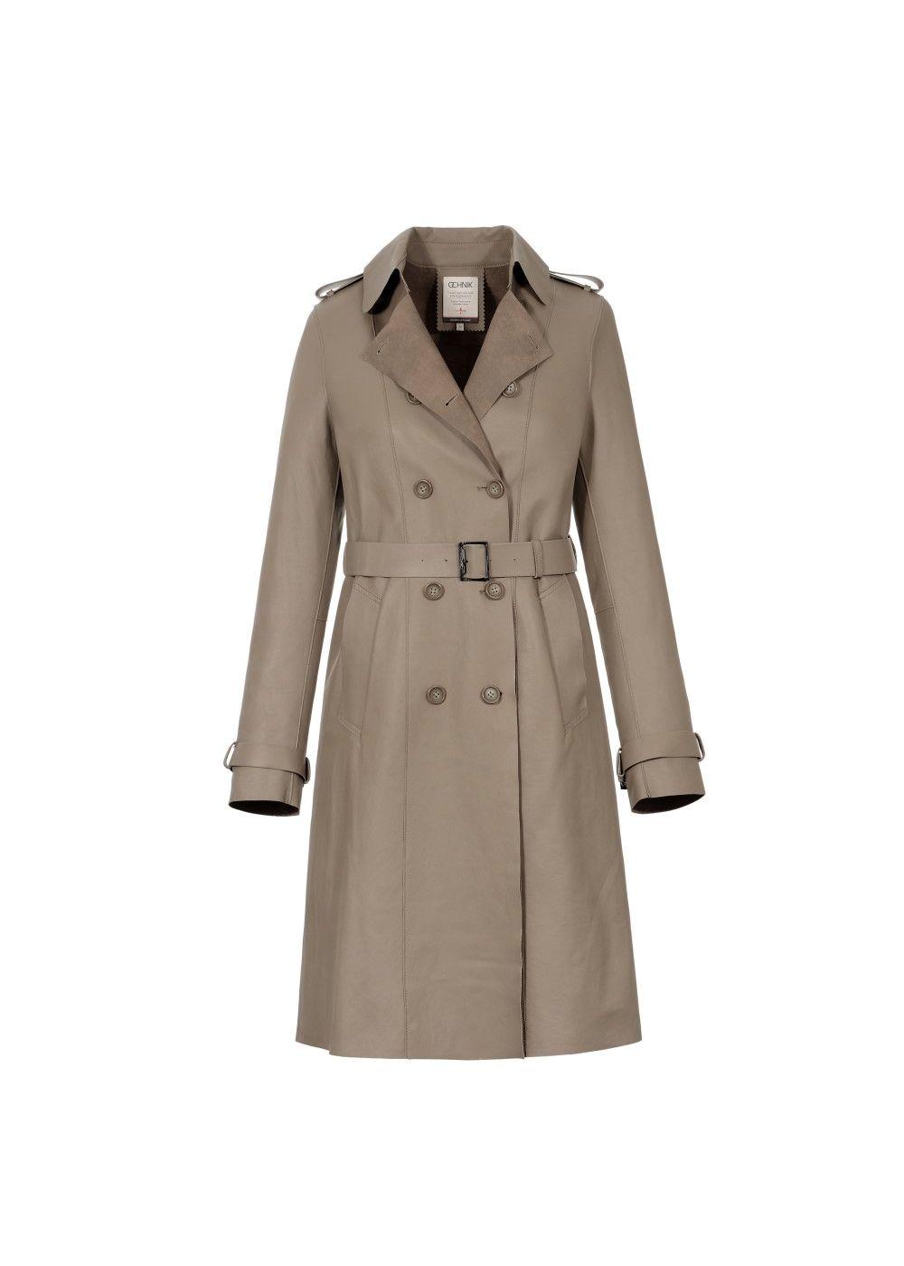 Płaszcz damski KURDS-0034-3049(W17)