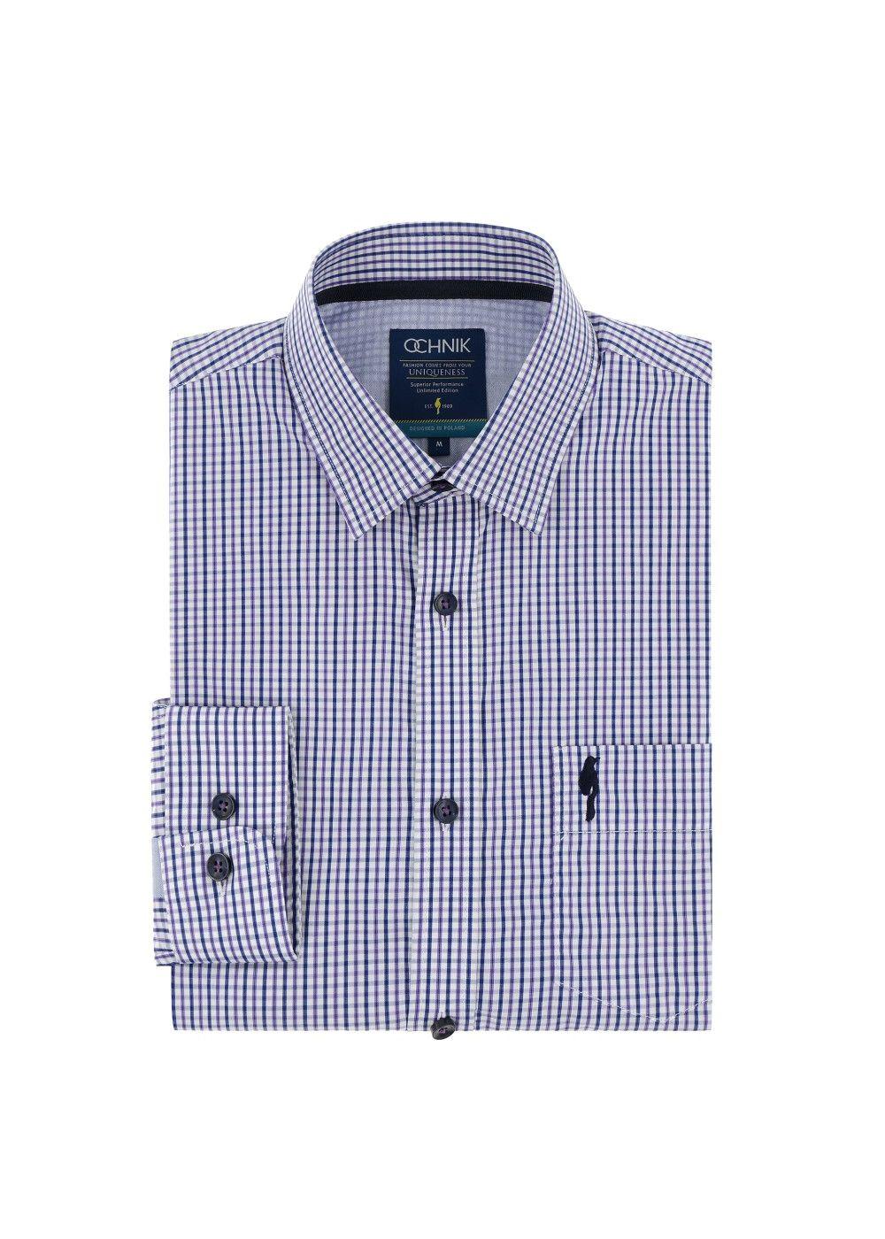 Koszula męska KOSMT-0044-72(Z17)