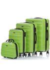 Komplet walizek na kółkach i kosmetyczka 14'/20'/24'/28' WALPC-0006-50