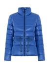 Niebieska kurtka damska z puchem KURDT-0264-69(Z20)