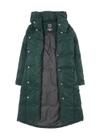 Ciemnozielona puchowa kurtka damska KURDT-0216-51(Z20)
