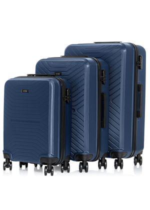 """Komplet walizek twardych na kółkach 19""""/24""""/28"""" WALAB-0046-69(W20)"""