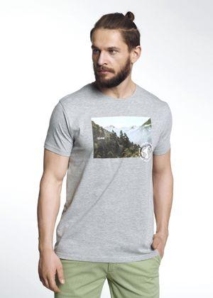 T-shirt męski TSHMT-0059-91(W21)