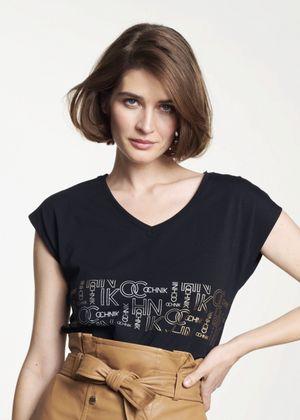 T-shirt damski TSHDT-0062-99(W21)
