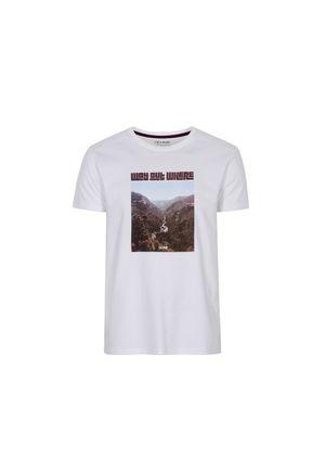 T-shirt męski TSHMT-0058-11(W21)