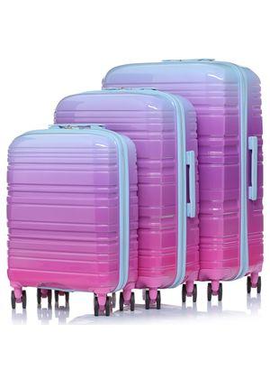 "Komplet walizek na kółkach 19""/24""/28"" WALAB-0055-15(W20)"