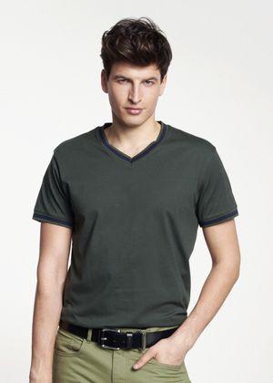 T-shirt męski TSHMT-0025-51(W21)