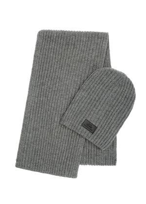 Zestaw czapka i szalik SZAMT-0016-91+CZAMT-0011-96(Z20)