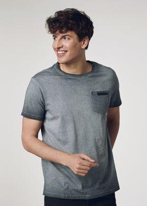 T-shirt męski TSHMT-0055-51(W21)