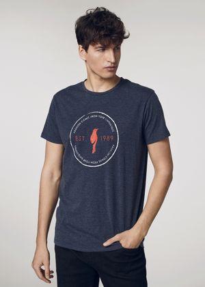 T-shirt męski TSHMT-0060-69(W21)