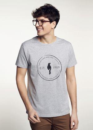 T-shirt męski TSHMT-0052-91(W21)