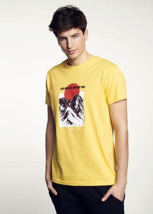 T-shirt męski TSHMT-0057-21(W21)