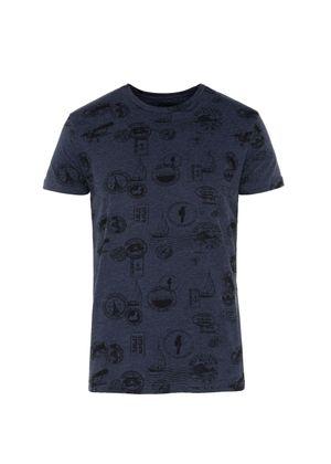 T-shirt męski TSHMT-0013-69(W19)