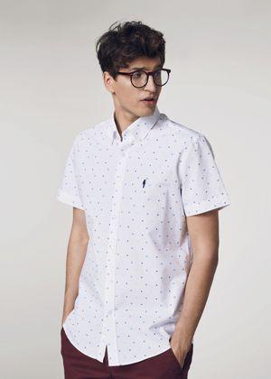 Koszula męska KOSMT-0257-11(W21)