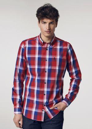 Koszula męska KOSMT-0121-42(W21)