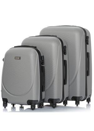 "Komplet walizek na kółkach 19""/24""/28"" WALAB-0052-92(W20)"