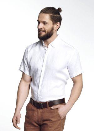 Koszula męska KOSMT-0256-11(W21)