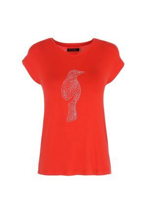 T-shirt damski TSHDT-0051-42(W20)