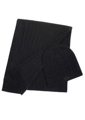Zestaw czapka i szalik SZAMT-0021-69+CZAMT-0034-69(Z20)