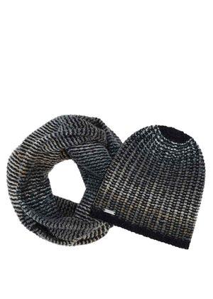 Zestaw czapka i szalik CZADT-0018-99 + KOMDT-0007-99