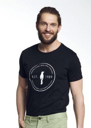 T-shirt męski TSHMT-0052-99(W21)