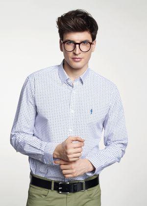 Koszula męska KOSMT-0255-11(W21)