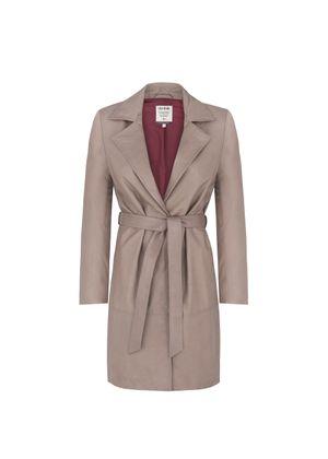 Płaszcz damski KURDS-0087-5516(W19)