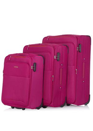 Komplet walizek na kółkach 19'/24'/28' WALNY-0033-31(W20)